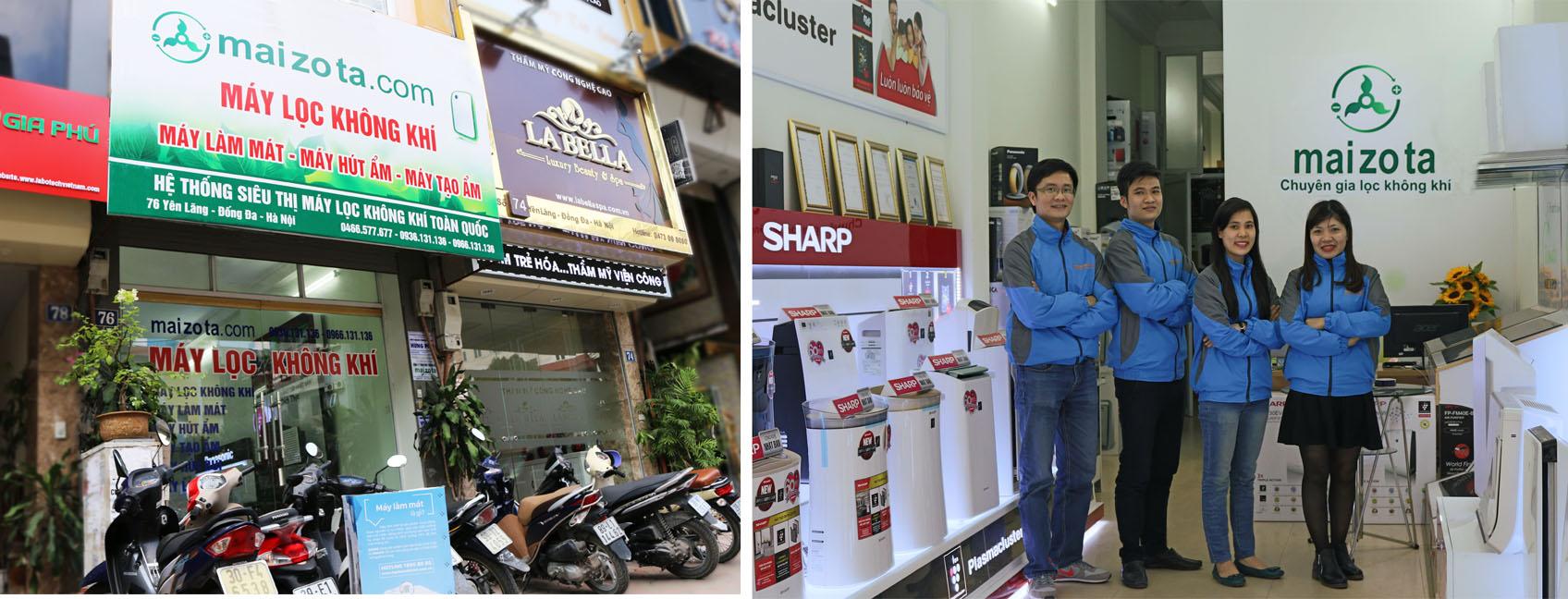 Cửa hàng maizota tại Hà Nội