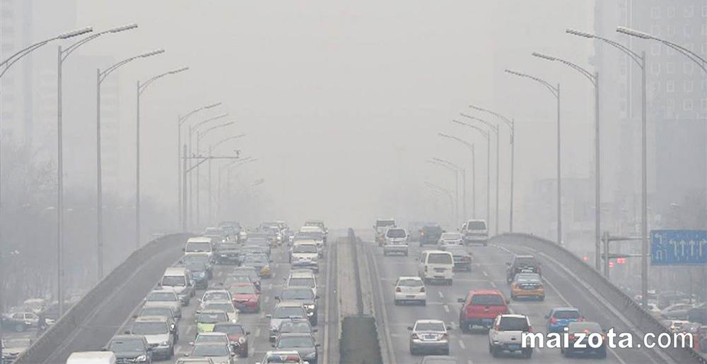 Ô nhiễm hạt bụi PM2.5 do động cơ ô tô