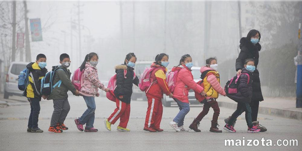 Ô nhiễm hạt bụi PM2.5 với trẻ em