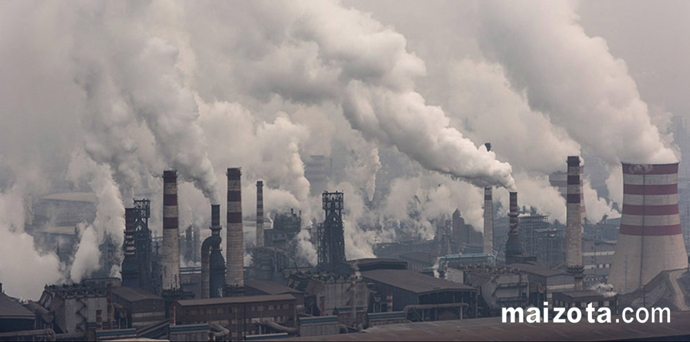 Ô nhiễm khí thải từ ống khói nhà máy