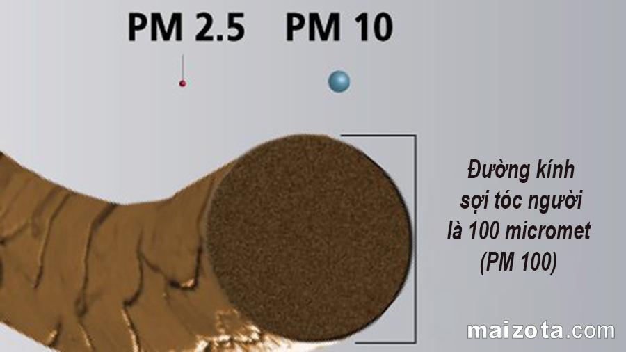 Hạt bụi PM2.5