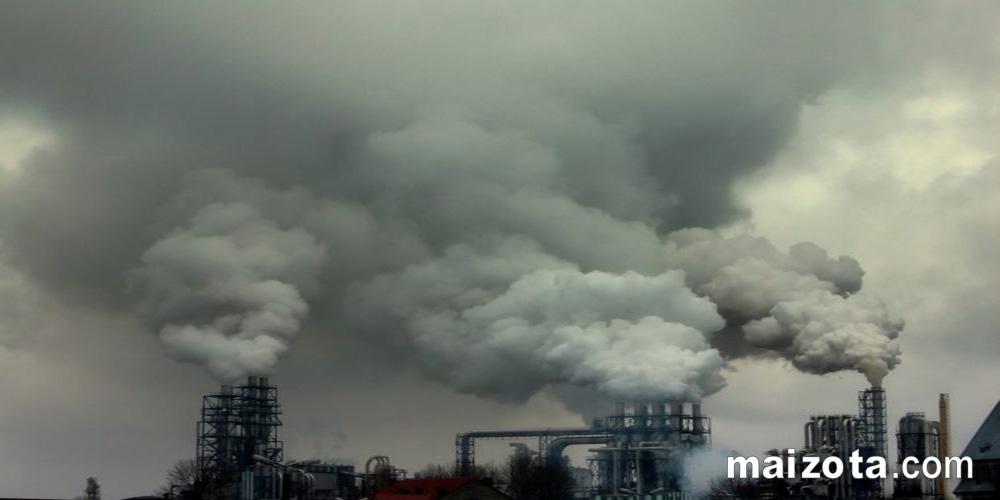 Ô nhiễm không khí nên Ô xy bị giảm