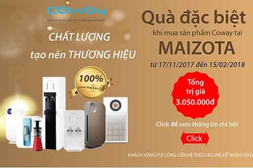 Qua tang Coway 2107